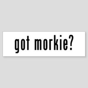 GOT MORKIE Sticker (Bumper)