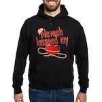 Nevaeh Lassoed My Heart Hoodie (dark)