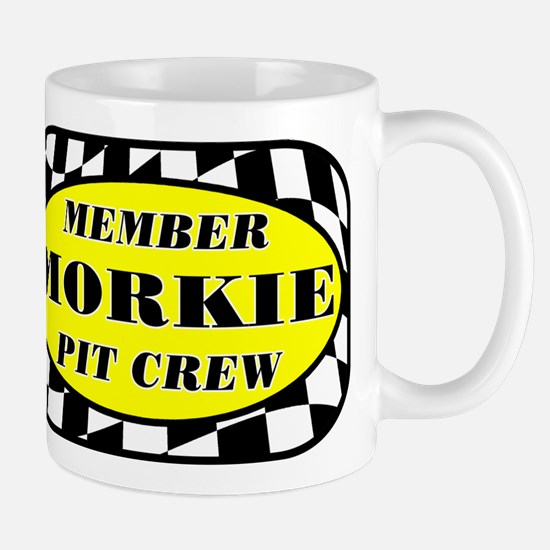 Morkie PIT CREW Mug