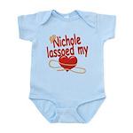 Nichole Lassoed My Heart Infant Bodysuit