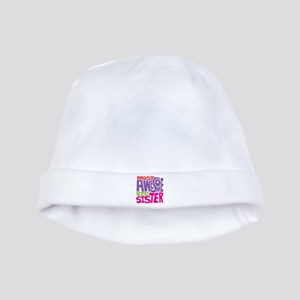 Awesome Big Sister baby hat