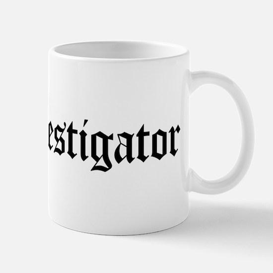 Fire Investigator Mug