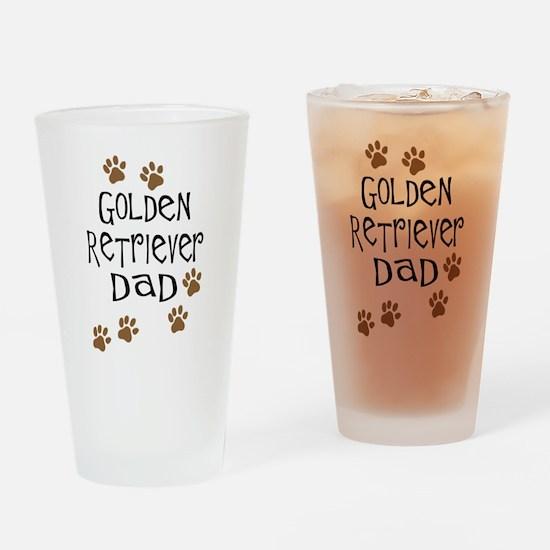 Golden Retriever Dad Drinking Glass