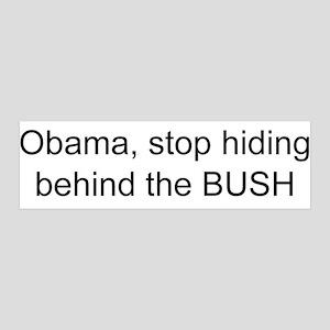 Anti-Obama hiding 42x14 Wall Peel