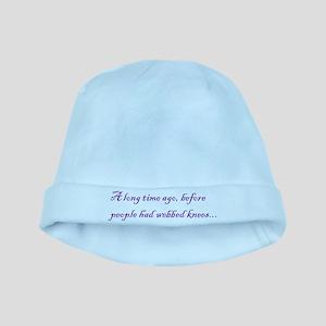 Webbed Knees baby hat