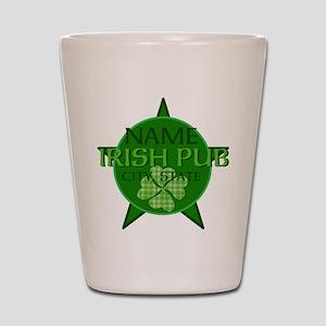 Custom Irish Pub Shot Glass