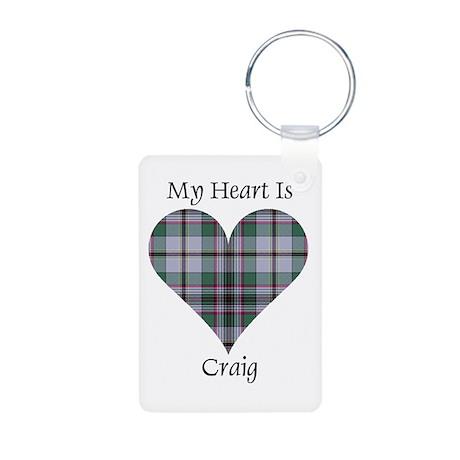 Heart - Craig Aluminum Photo Keychain