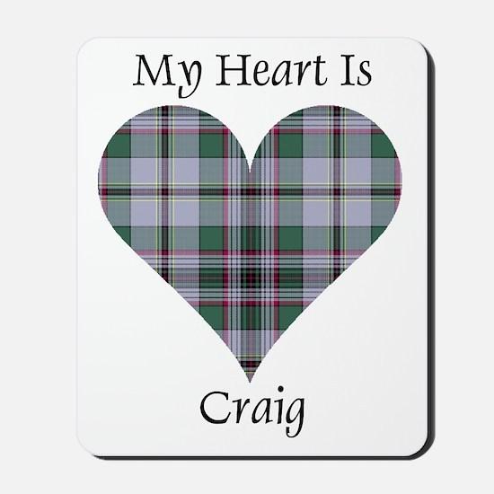 Heart - Craig Mousepad