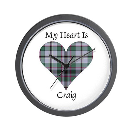 Heart - Craig Wall Clock