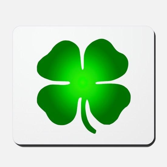 Four Leaf Clover Mousepad