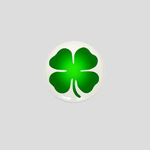 Four Leaf Clover Mini Button