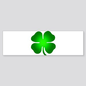 Four Leaf Clover Sticker (Bumper)