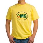 OMG Yellow T-Shirt