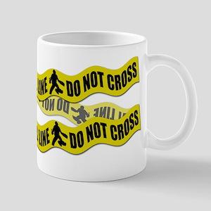 Field Hockey Crime Tape Mug