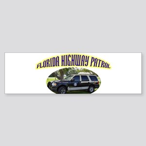Florida Highway Patrol K9 Sticker (Bumper)