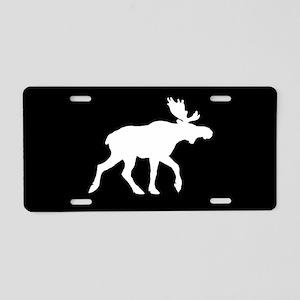 Moose SILHOUETTE Aluminum License Plate