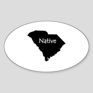 South Carolina Native Sticker (Oval)