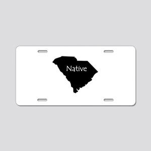 South Carolina Native Aluminum License Plate