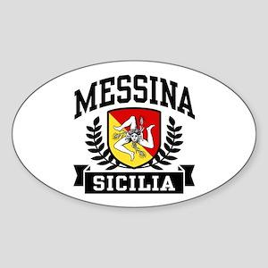 Messina Sicilia Sticker (Oval)