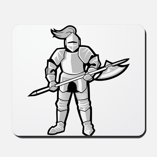 Statue of Armor Mousepad