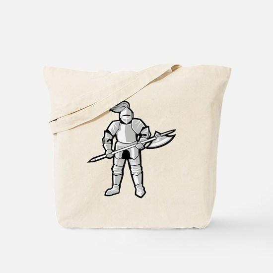 Statue of Armor Tote Bag