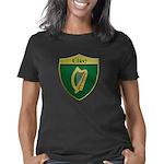 Ireland Metallic Shield Women's Classic T-Shirt