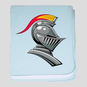 Jousting Helmet baby blanket