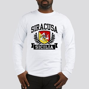 Siracusa Sicilia Long Sleeve T-Shirt