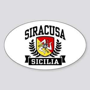 Siracusa Sicilia Sticker (Oval)