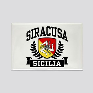 Siracusa Sicilia Rectangle Magnet