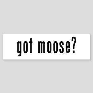 GOT MOOSE Sticker (Bumper)