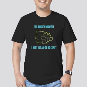 the Mighty Midwest Men's Fitted T-Shirt (dark)
