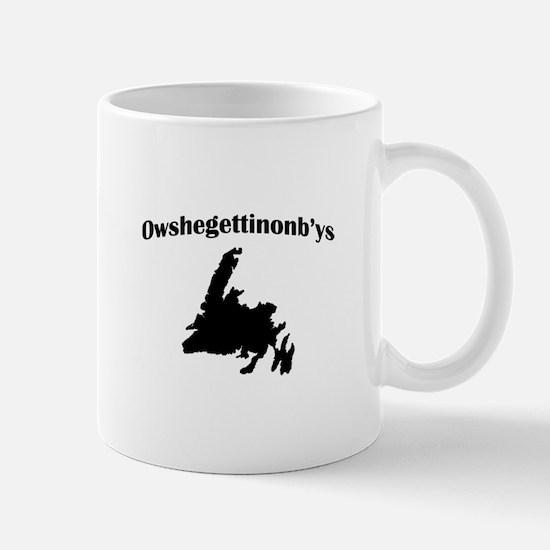 Owshegettinonbys Newfoundland Mug