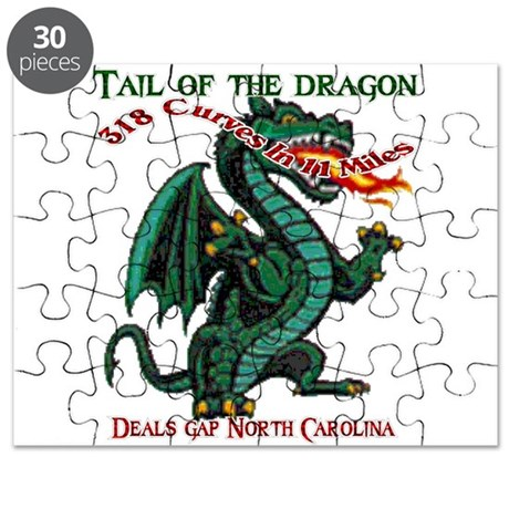 Tail Of The Dragon Puzzle