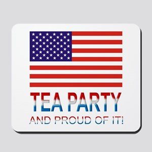 Tea Party Mousepad
