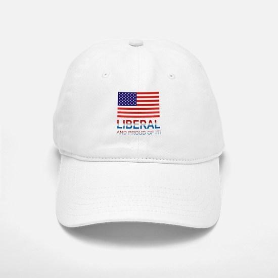 Liberal Baseball Baseball Cap