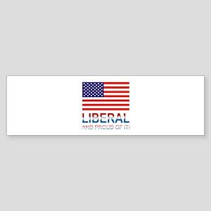 Liberal Sticker (Bumper)