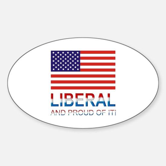 Liberal Sticker (Oval)