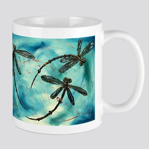 Dragonfly Cloud 11 oz Ceramic Mug