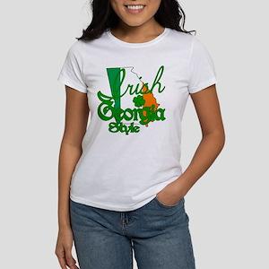 Irish in Georgia Women's T-Shirt