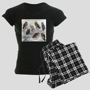 Owls of North America Women's Dark Pajamas