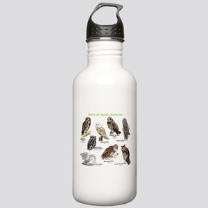 Owls of North America Stainless Water Bottle 1.0L