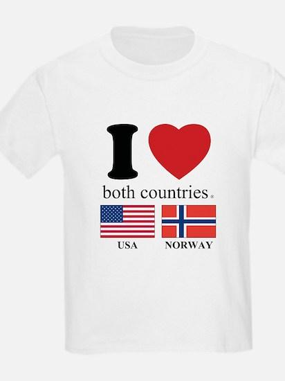 USA-NORWAY T-Shirt