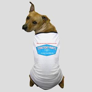 Stretchy Pants (Vintage Look) Dog T-Shirt