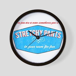 Stretchy Pants (Vintage Look) Wall Clock