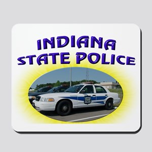Indiana State Police Mousepad