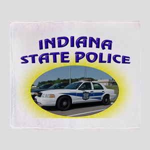 Indiana State Police Throw Blanket
