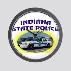 Indiana State Police Wall Clock