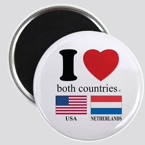 USA-NETHERLANDS Magnet