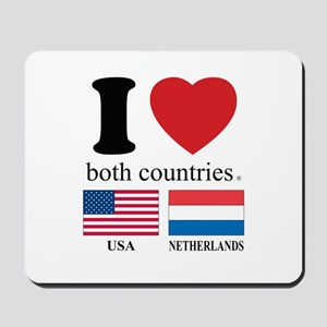 USA-NETHERLANDS Mousepad